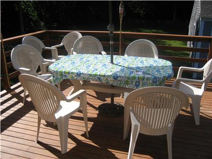 Dennis Cape Cod vacation rental - Dine out on the deck