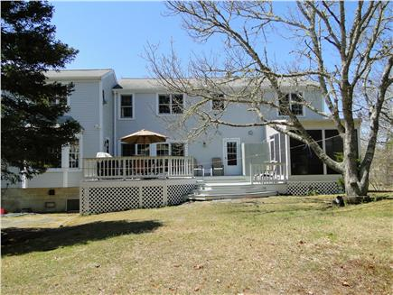 Yarmouth Cape Cod vacation rental - Large backyard - great for kids!