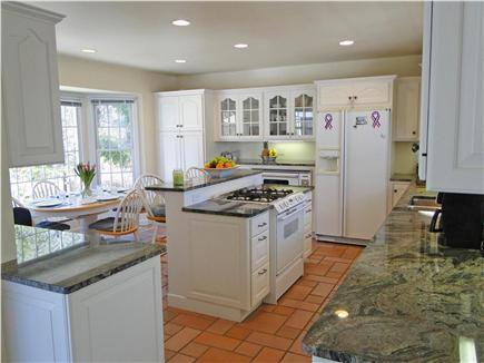 Yarmouth Cape Cod vacation rental - Lovely bright kitchen with modern appliances, seating area