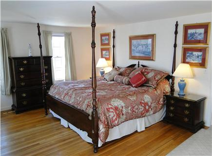 Yarmouth Cape Cod vacation rental - Upstairs King master suite with door to upper deck