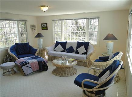 Yarmouth Cape Cod vacation rental - Sitting area – part of master bedroom suite