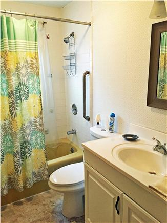 Harwich Cape Cod vacation rental - Bathroom Downstairs