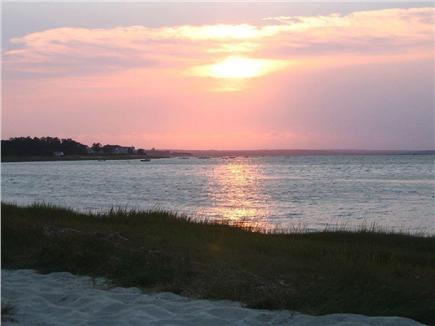 Barnstable Cape Cod vacation rental - Beach at sunset low-tide - 8 minute walk from house
