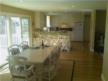 Barnstable Cape Cod vacation rental - Kitchen from dining area. Living room is to right.