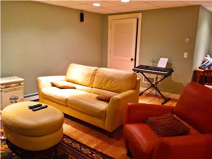 Brewster Cape Cod vacation rental - Finished basement with TV