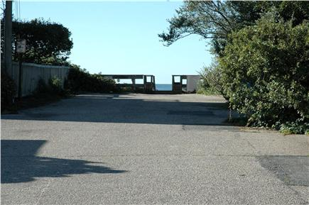 Harwichport Cape Cod vacation rental - From the front of house, this is how many steps to the beach