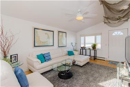 Plymouth MA vacation rental - Large modern family room with water views