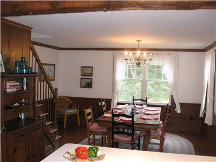 East Orleans Cape Cod vacation rental - Laugh & talk about your day's adventures around the dinner table.