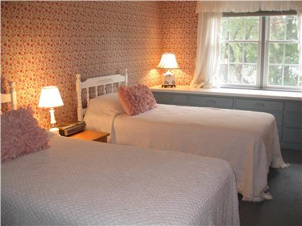 East Orleans Cape Cod vacation rental - Rose Room with built-in dresser located on the 1st floor.