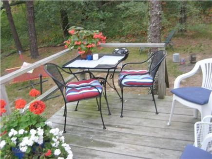 Wellfleet Cape Cod vacation rental - ...or dine outside