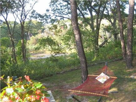 Wellfleet Cape Cod vacation rental - View from the secluded deck