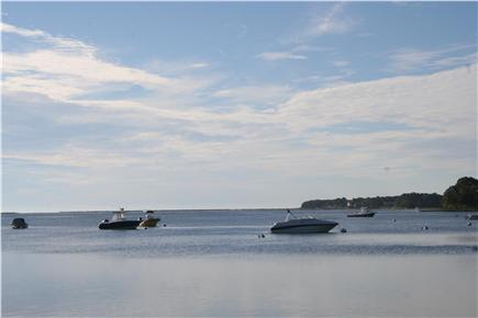 Mashpee Cape Cod vacation rental - Popponnessett Bay is 3 minutes walk from the house to beach