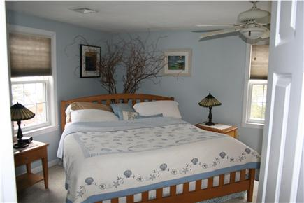 Mashpee Cape Cod vacation rental - The master bedroom with a walk-in closet.