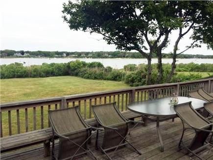 East Falmouth Cape Cod vacation rental - Beautiful backyard dining