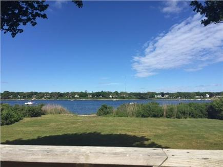 East Falmouth Cape Cod vacation rental - Direct backyard access to water...half acre flat yard