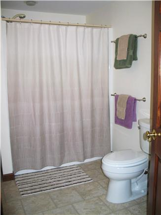 Harwich Cape Cod vacation rental - Master bath with step-in shower