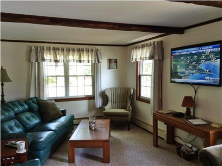 Harwich Cape Cod vacation rental - Living room from entryway