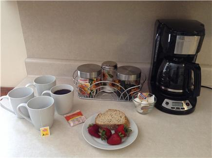 Harwich Cape Cod vacation rental - Coffee and tea provided for your first morning