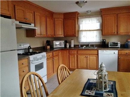 Dennis Port Cape Cod vacation rental - Large kitchen with plenty of cabinet space