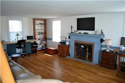 Chatham Cape Cod vacation rental - Living Room, Google TV, WI-FI, Fireplace, Stereo, & Printer