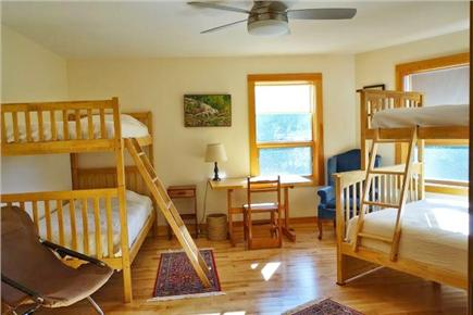 Wellfleet Cape Cod vacation rental - Uncrowded bunkroom with one double, 3 twins.