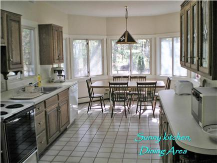 West Harwich Cape Cod vacation rental - Bright kitchen and dining room