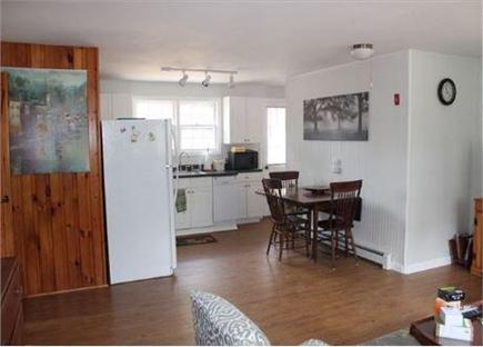 North Eastham Cape Cod vacation rental - Kitchen / living combined