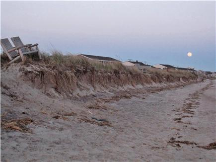 North Truro - Beach Point Cape Cod vacation rental - Lovely moon rising over the beach!