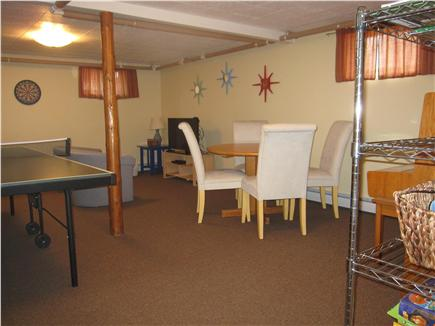 North Truro - Beach Point Cape Cod vacation rental - Large rec room ping pong, TV/Blu-Ray, DVDs, games - even a piano!