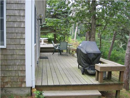 Chatham, Cape Cod Cape Cod vacation rental - Deck overlooking Emery Pond