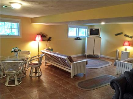 Hyannis Park/West Yarmouth Cape Cod vacation rental - Downstairs Game/TV room