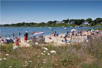 Chatham Cape Cod vacation rental - The Children's Beach at Oyster Pond is a short walk away