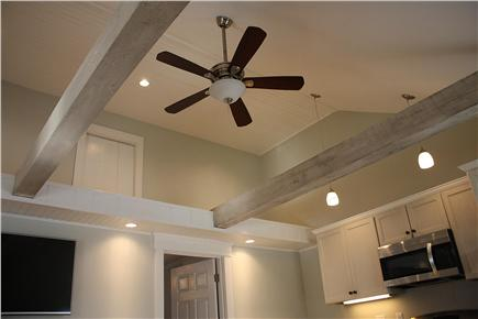 West Yarmouth Cape Cod vacation rental - Vaulted ceiling w/ new pull-out couch...