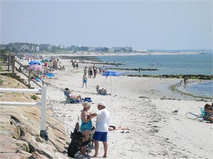 South Yarmouth Cape Cod vacation rental - Parkers River Beach is just a 5-minute walk from the house