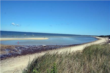 Brewster Cape Cod vacation rental - East down the beach