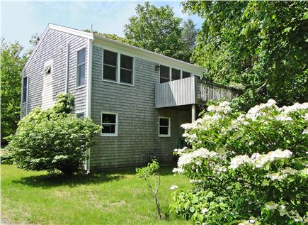 Brewster Cape Cod vacation rental - Back of cottage, facing water