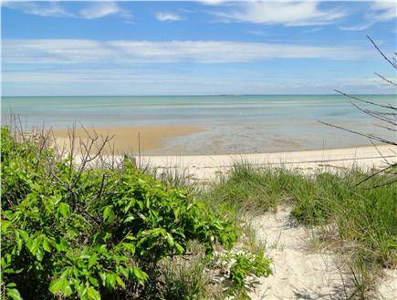 Brewster Cape Cod vacation rental - Walkway to private beach
