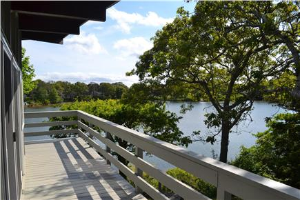 West Dennis Cape Cod vacation rental - Wraparound deck for lounging comfortably