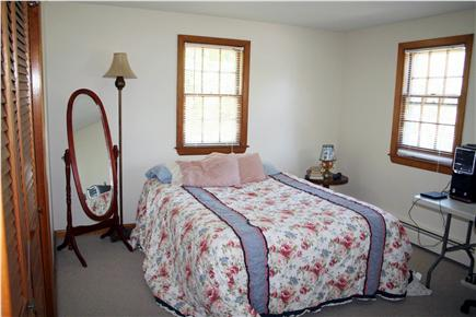 Chatham Cape Cod vacation rental - Queen bedroom with air conditioner and linens