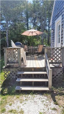 Chatham Cape Cod vacation rental - Deck with gas grill