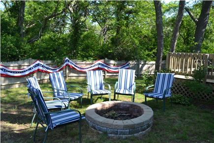 Eastham Cape Cod vacation rental - Private Backyard with Firepit