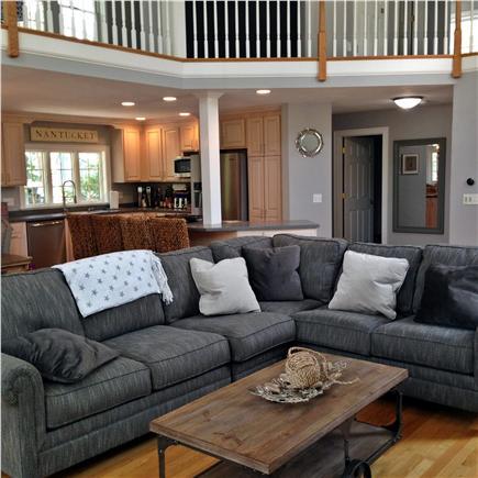Seconsett Island, Mashpee Cape Cod vacation rental - Family Room 1