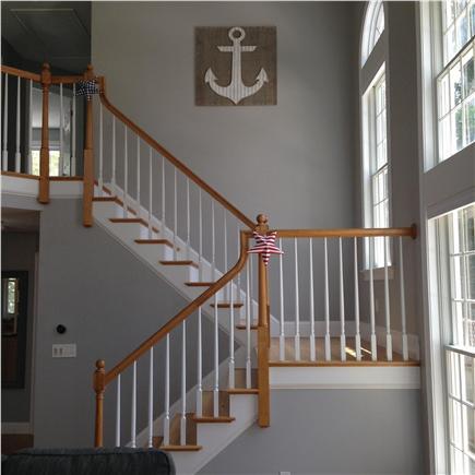 Seconsett Island, Mashpee Cape Cod vacation rental - Staircase 1
