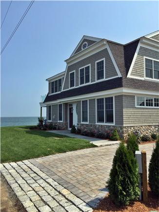 Mashpee Cape Cod vacation rental - Facing the water