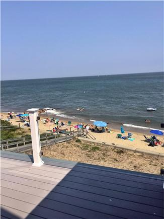 Mashpee Cape Cod vacation rental - View from upstairs family room deck