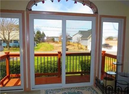 Gray Gables, Bourne, MA Cape Cod vacation rental - View from 3 season front porch