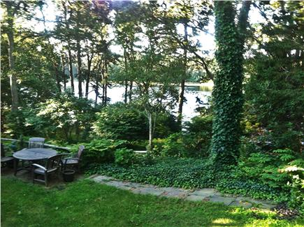 Chatham Cape Cod vacation rental - Pond View from the sunroom