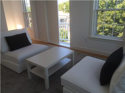 Provincetown Cape Cod vacation rental - There are three sitting areas, like this, on each floor.