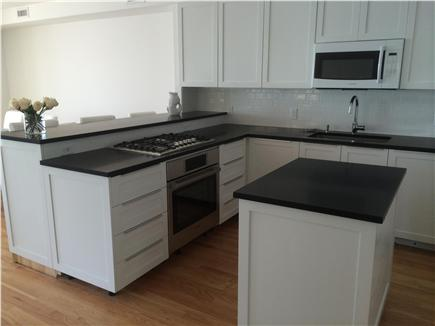 Provincetown Cape Cod vacation rental - This brand new modern kitchen includes all the newest appliances.