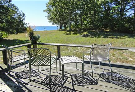 East Orleans Cape Cod vacation rental - Best seat in the house, water views in both directions